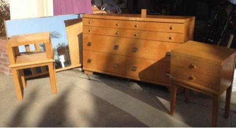 reduced dresser mirror nightstands bedroom set gonzales for sale in monterey california