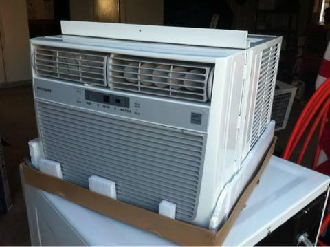 REDUCED, 10,000 btu window air conditioner. Scratch-n-dent - $150
