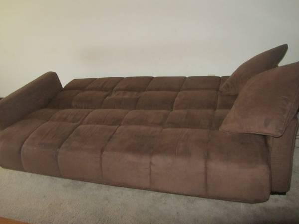 Reduced price Baja Convert a Couch and Sofa Bed dark brown for
