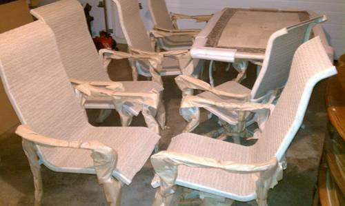 **Reduced** BRAND NEW HAMPTON BAY 7 Piece Patio Set