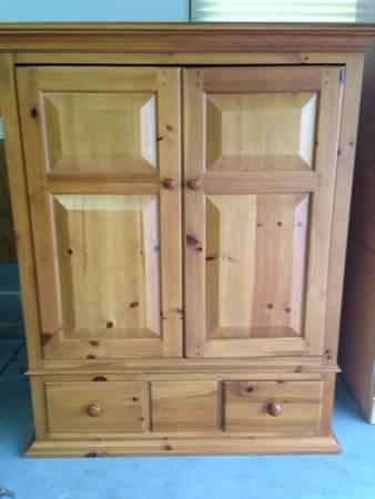 REDUCED Broyhill Armoire  TV stand