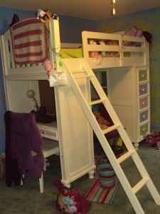 REDUCED**Build A Bear Bunk Bed w Desk - (Sauquoit) for Sale in Utica ...