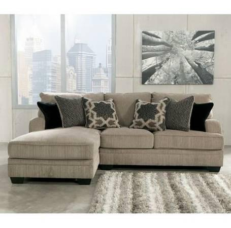 Reduced! Chenille Sectional Financing Available! - $895