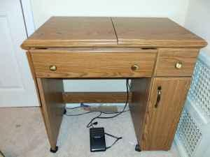 reduced kenmore sewing machine with cabinet milton for sale in pensacola florida classified. Black Bedroom Furniture Sets. Home Design Ideas