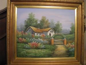**Reduced-Must Sell** Framed Painting of English