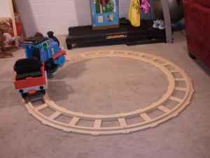 Reduced Thomas the Train Battery Operated Ride On Toy - $200 Story City