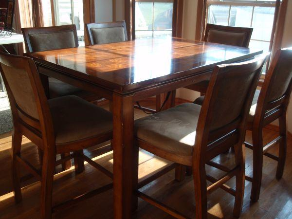 Tall Dining Table Awesome Counter Height Room