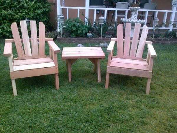 Redwood Patio Furniture New - for Sale in Perris ...