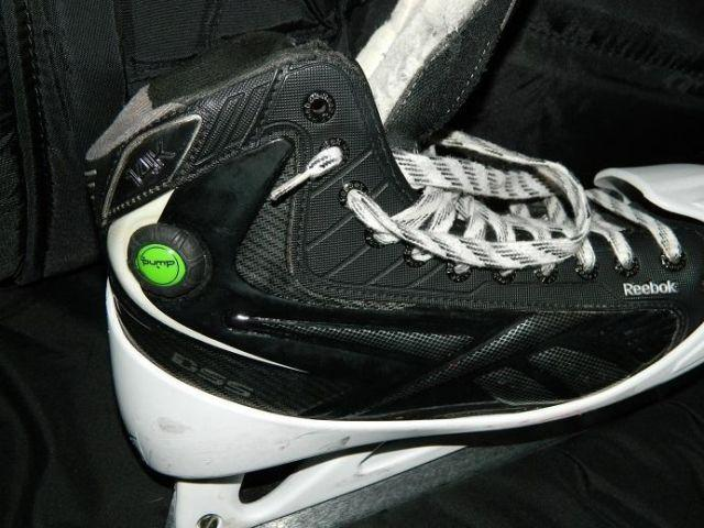 Reebok 14K pump Goalie ice skates!