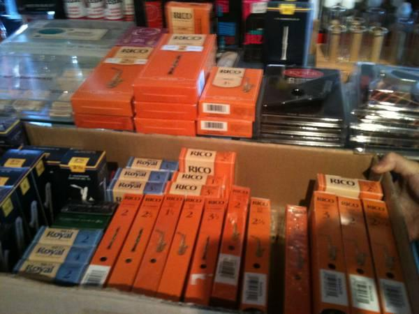 Reeds for Clarinet - Sax - Bass Clarinet - Contra Bass - Oboe - $5