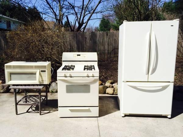 Refrigerator Stove Dishwasher Microwave Combo For In Akron Ohio