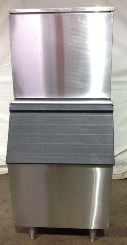 Refurbished Norpole Ice Machine with Bin