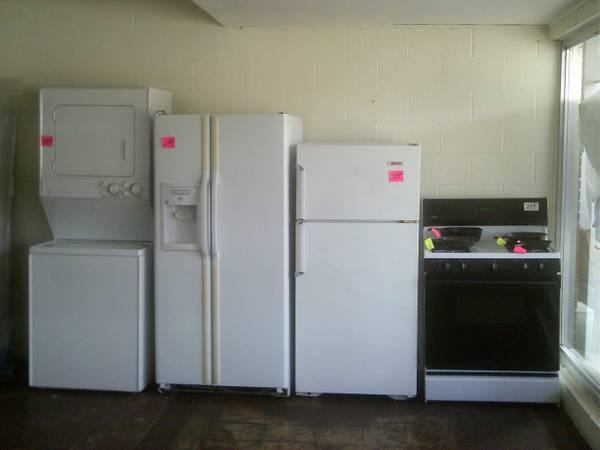 regular size not apartment stacked washer dryer unit with warranty