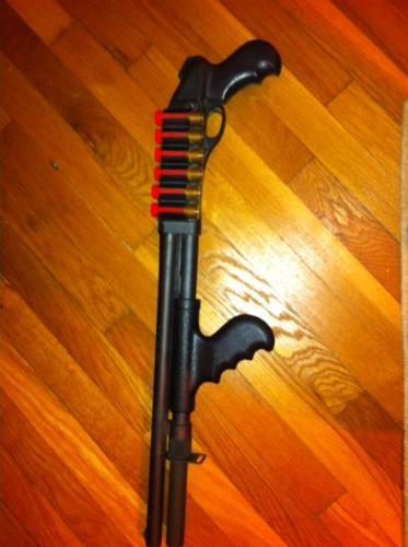 REMINGTON 12 gauge 870 w20 slug barrel home defense shotgun