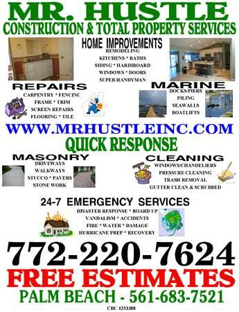 Remodeling, Home Improvements, Home Repairs FREE