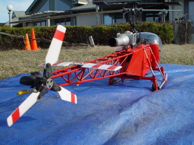 Remote Control Scale 30 Size Gas Helicopter Lama - $800