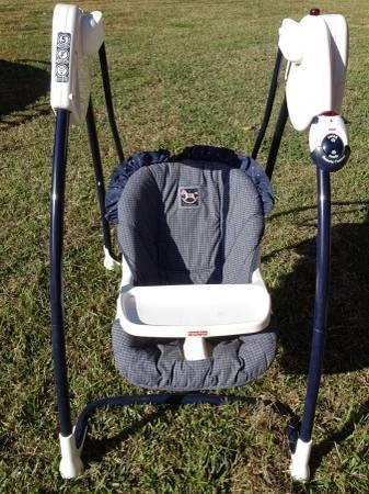 REMOTE CONTROLLED DELUXE QUICK RESPONSE BABY SWING