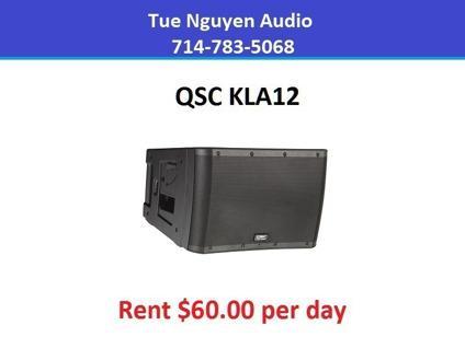 Rent QSC KLA12 Speaker