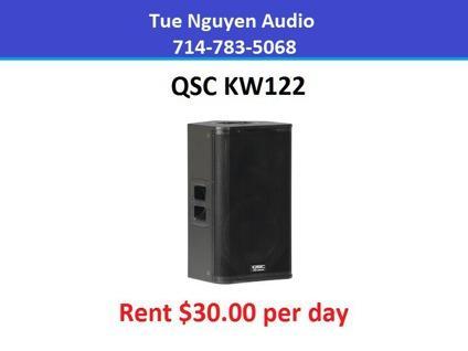 Rent QSC KW122