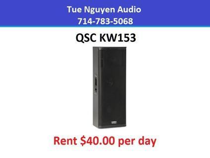 Rent QSC KW153
