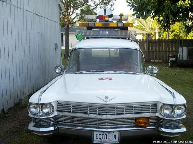 Ghostbusters Car For Rent