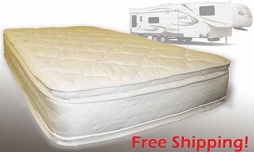 Replacement Short Queen Rv Mattress Pillow Top 60 X 75 For