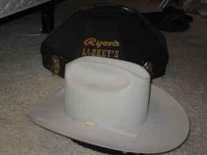 0ba48348796 RESISTOL 20X BEAVER FELT HAT   - (LINCOLN) for Sale in Sacramento ...