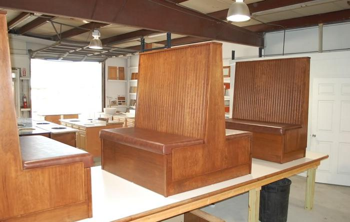 restaurant beadboard booths - Restaurant Booths For Sale