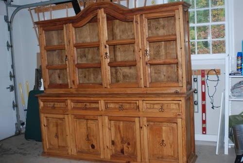 Restoration hardware look a like china cabinet and for Chinese furniture restoration