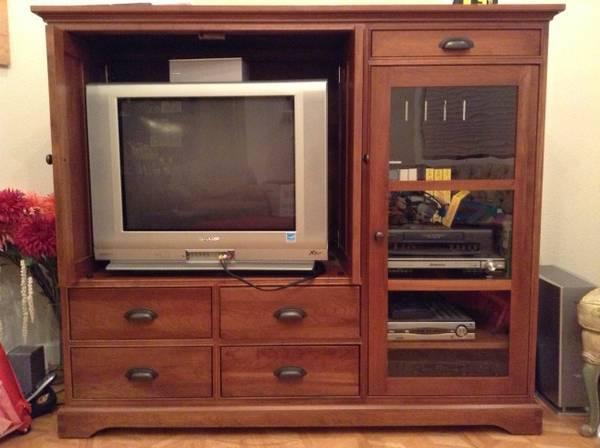 Restoration Hardware Media Cabinet Must Sell For Sale