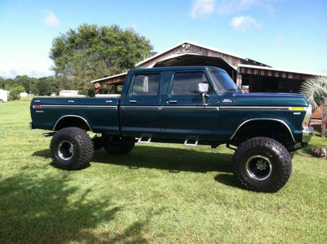 Restored 1977 ford f350 crew cab for Sale in Dover, Florida Classified ...