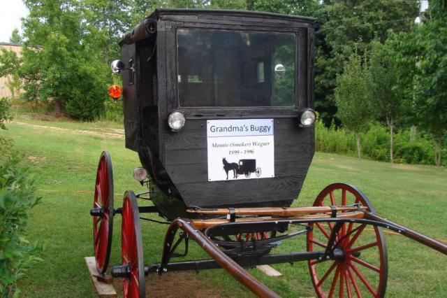 Restored Amish Buggy