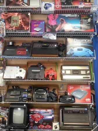Retro Gaming For Sale In Aurora Colorado Classified - Doc's video games