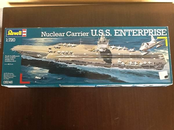 Revell Nuclear Carrier USS Enterprise Aircraft Carrier Kit Model 05046 - $35