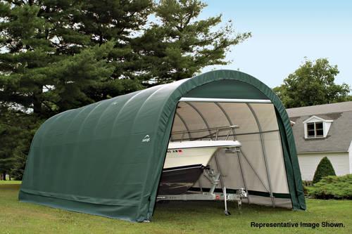Rhino And Shelterlogic Boat Shelters Storage Cover It