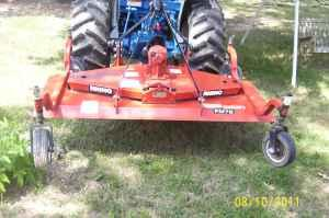 rhino finish mower - $950 (perryville mo )