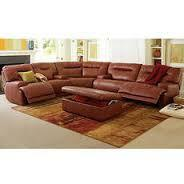 Ricardo Leather Power Reclining Sectional Sofa, ~
