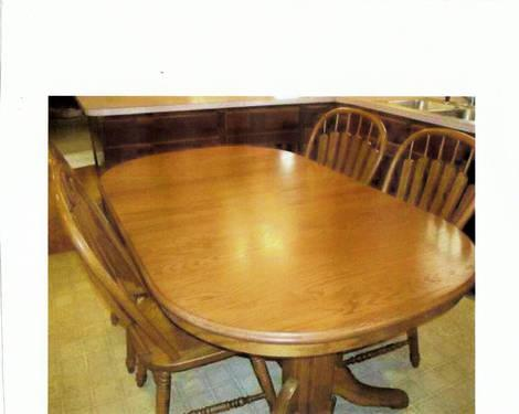 Richardson Brothers Oak Dining Table For Sale In