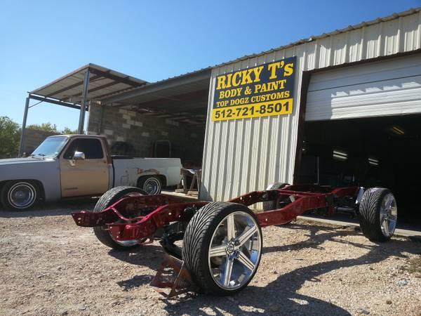RICKY.T.'s paint & body(autobody repair on a