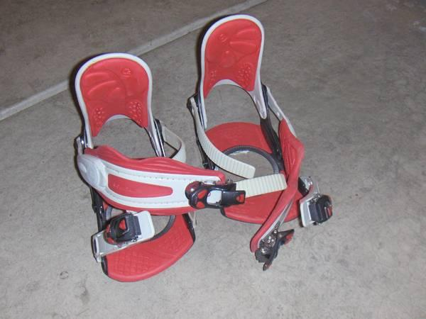 Ride LX Snowboard Bindings - womens medium - $10