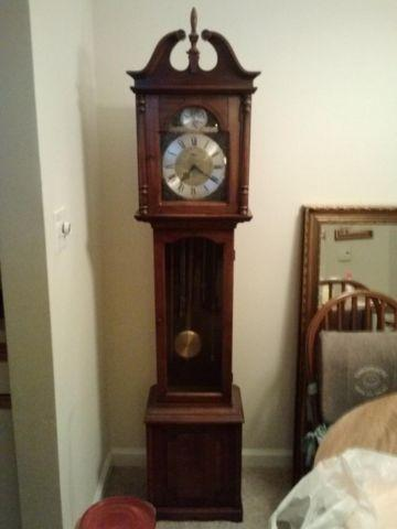 Ridgeway Westminster Chime Grandfather Clock For Sale for Sale in