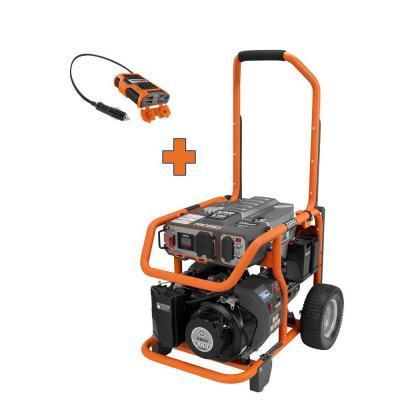 Ridgid 6800 watt gasoline generator with free 100 watt for Ridgid 6800 watt generator with yamaha engine