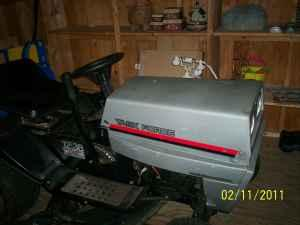 RIDING MOWER (TASKFORCE) - $175 (FALMOUTH VIRGINIA
