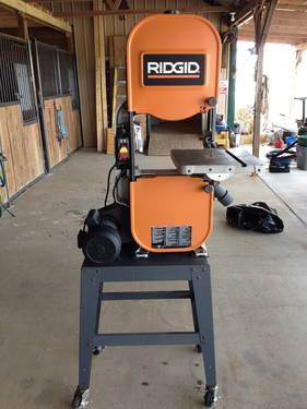 Rigid Bandsaw Model BS 14002 14 inch Like New