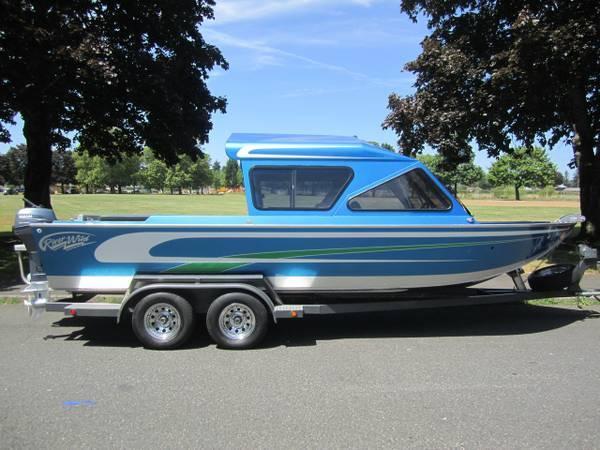 River Wild Custom 21 I/O Jet for sale in Portland, Oregon
