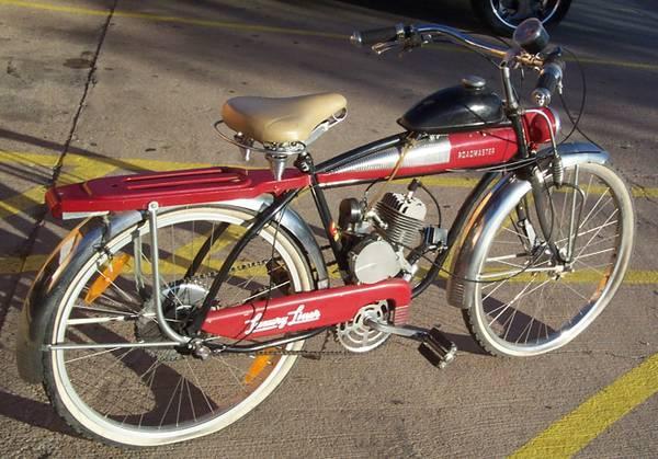 Roadmaster motorized BICYCLE luxury liner retro looking - $475