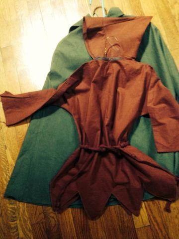 Robin Hood custom-made costumes, kids sz sm, med., beautiful