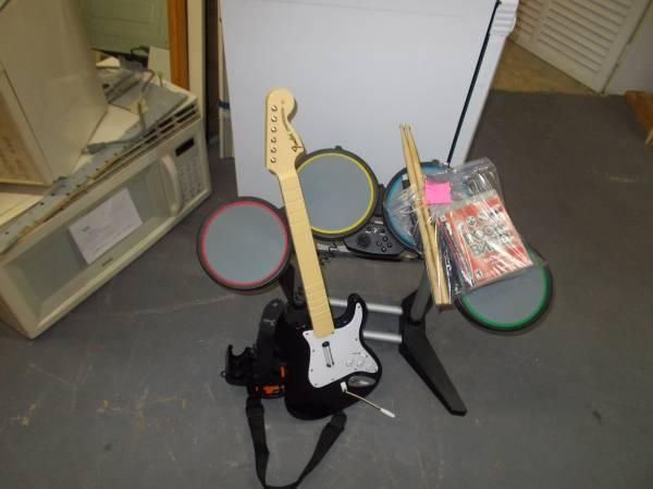 Rock band game set #16 - $75