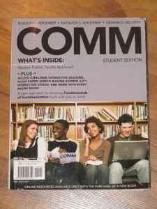 Rock Valley Comm Book for Sph131 - $15 (Rockford)