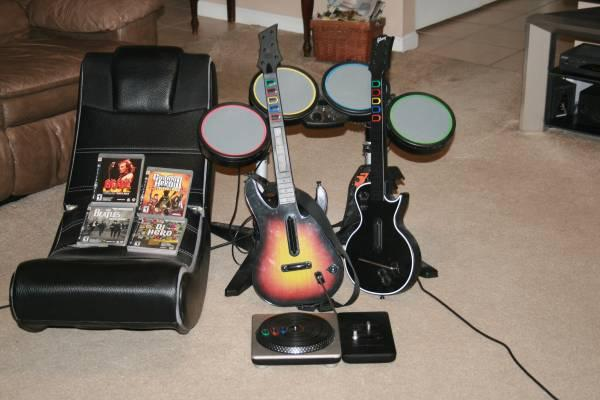 rockband playstation 3 games - $125